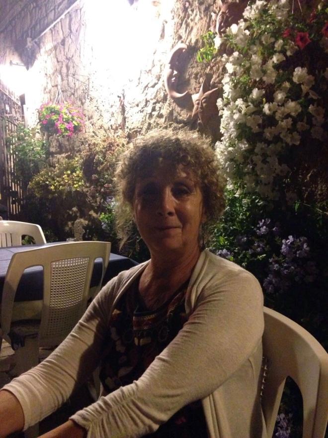 at restaurant Quattro Gatti in Ragusa Ibla