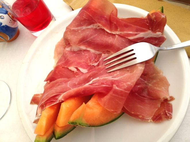 1 prosciutto and melon Amalfi 2