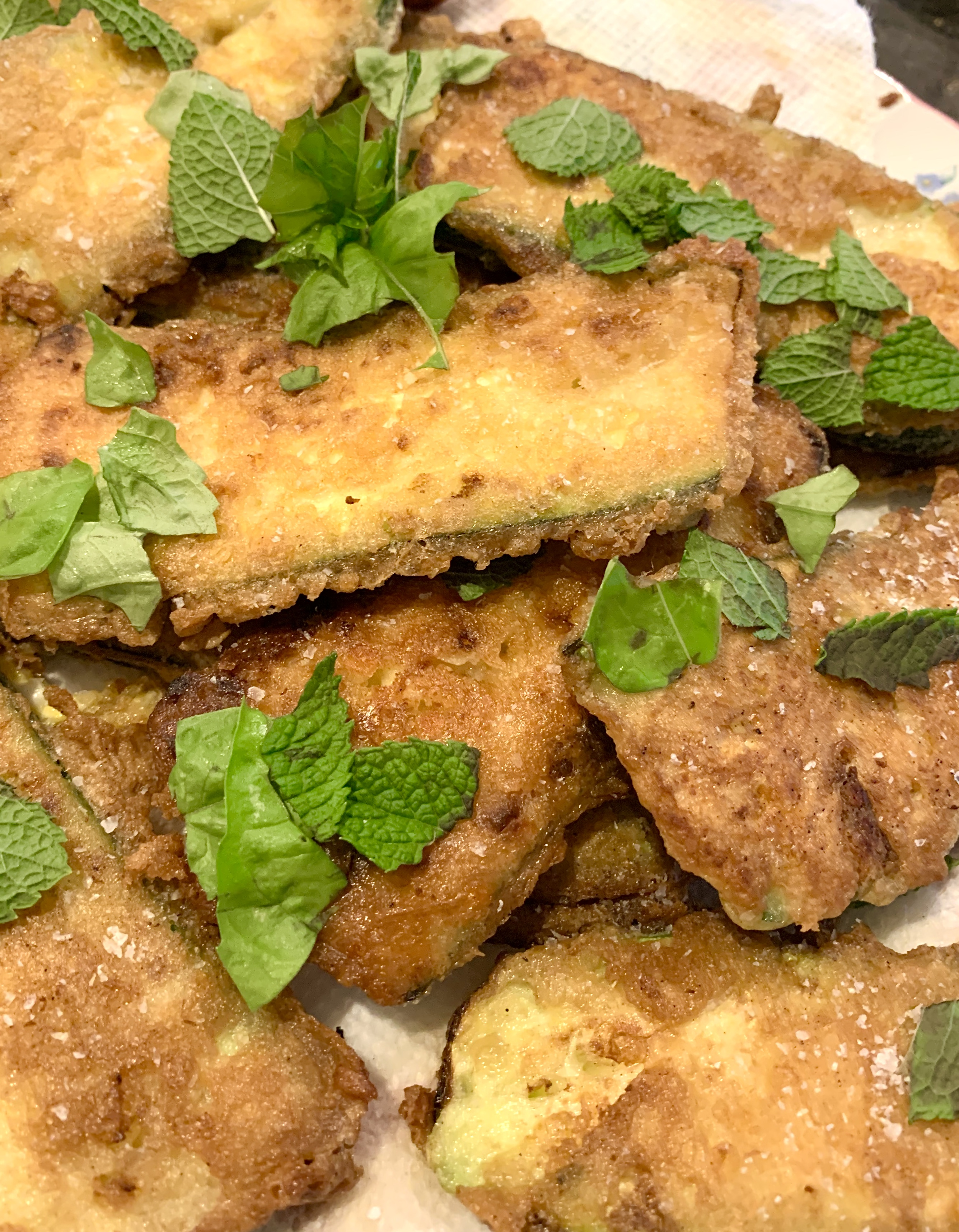 Vege Zucchini Slices